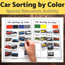 Cars Sorting by Color
