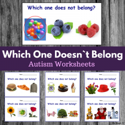 Which One Does Not Belong? Print and Go Worksheets