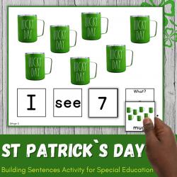 St Patrick`s Day Build a Sentence