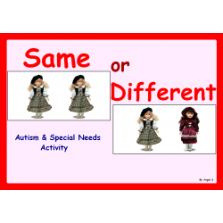 Same or Different -Dolls