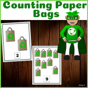 Counting Activity for Earth Day