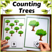 Counting Activity for Spring and Earth Day
