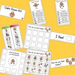 Calm Down Kit - Boardmaker / Autism / ADHD / ASD / PECS