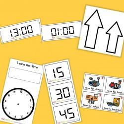 Learn the Time - Boardmaker
