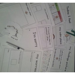 Anger / Behaviour Interactive Kit - Boardmaker / Autism / ADHD / ASD