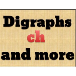 Consonant Digraphs CH Activities Pack