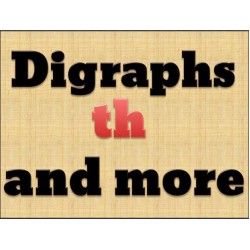 Consonant Digraphs TH Activities Pack