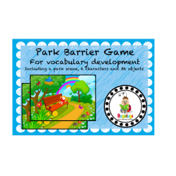 Barrier Game for vocabulary development at the Park