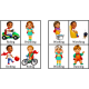Action / Verb Learning Flashcard Package - Beginner