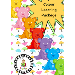 Colour / Color Learning Rainbow Bear Package