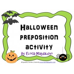 Halloween Preposition